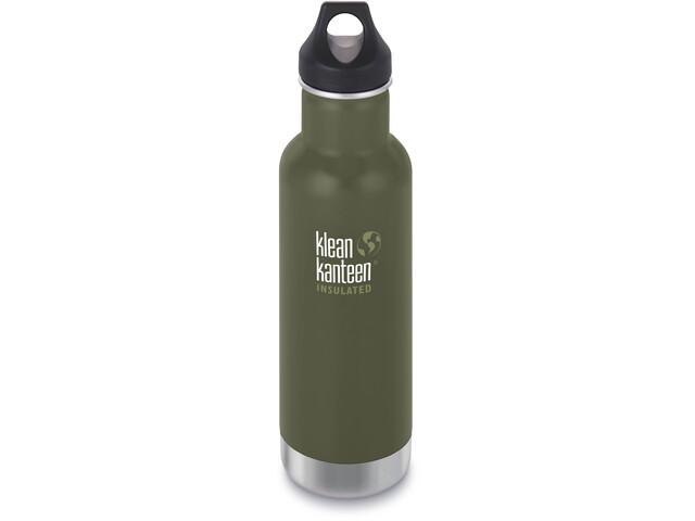 Klean Kanteen Classic Vacuum Insulated Bidón Tapa de Girar 592ml, Oliva